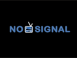 No Signal screen